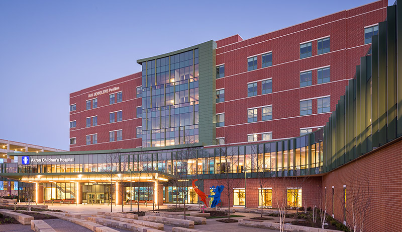 Super savings: The $180 million, 369,000-square-foot Kay Pavilion at Akron (Ohio) Children's Hospital, a 2015 project built in accordance with integrated lean project delivery, was completed two months ahead of schedule and achieved $20 million in cost savings. (Image courtesy of CCG Automation)
