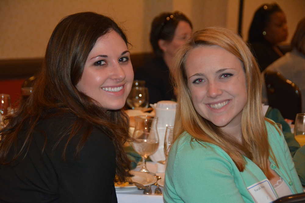 BCAC Policy Analyst Ashley Blanchard and Intern Sarah Birney