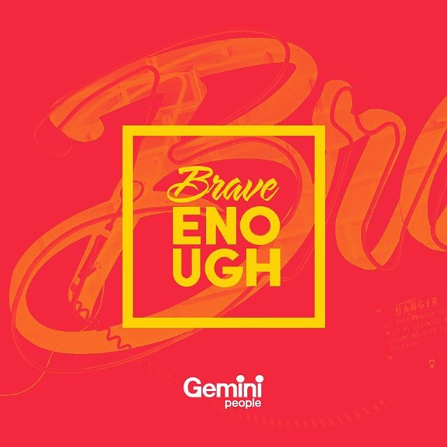 We've teamed up with @gemini_people to bring you #BraveEnough. Our competition for graduate digital designers to win a coveted placement with our agency this summer. Visit  @gemini_people for more information. #placements #gradschemes #agency #wearebrave