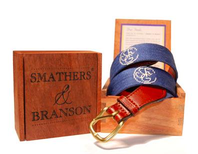 Smathers & Branson Custom Belts