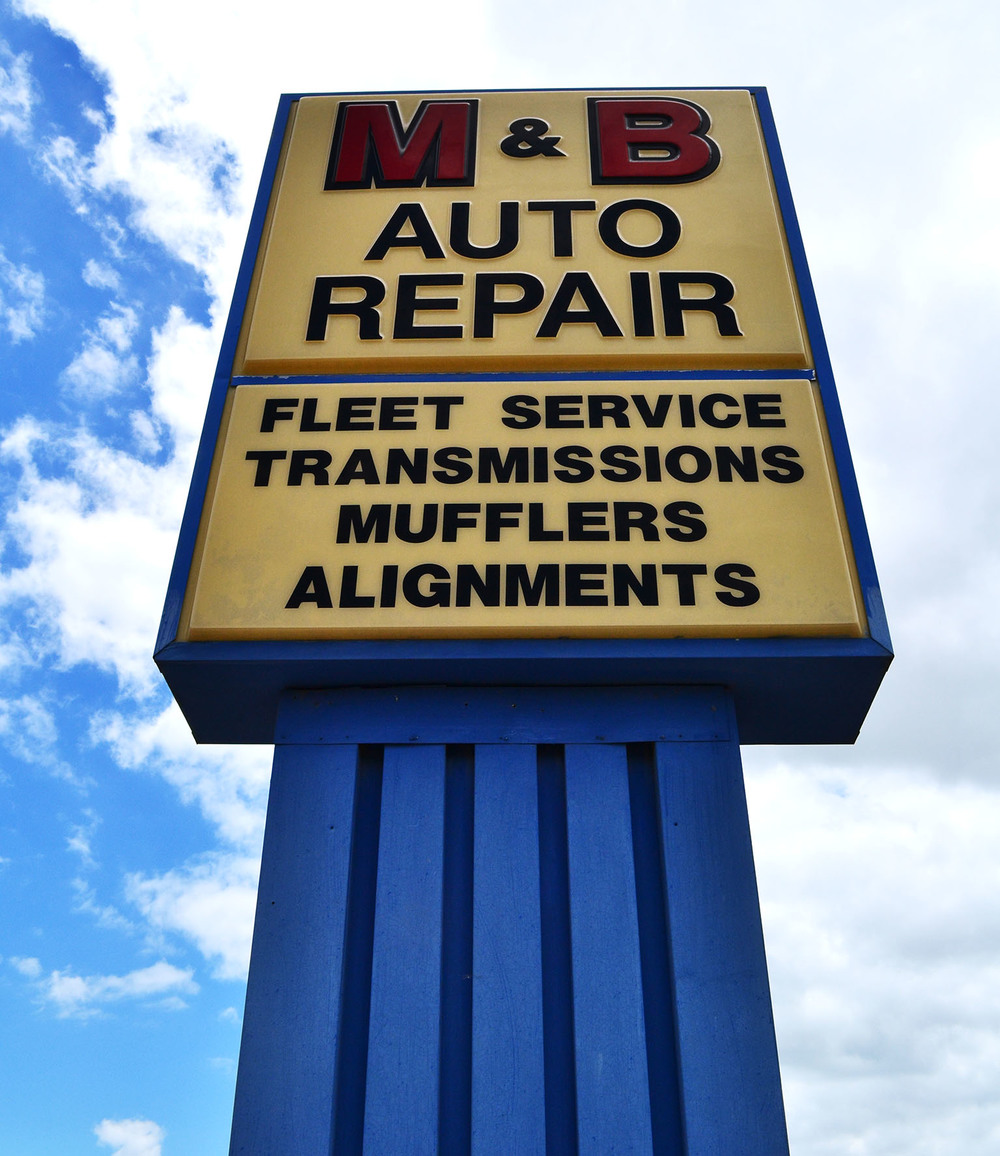 We offer a completely separate diesel service area right next door to our main office.