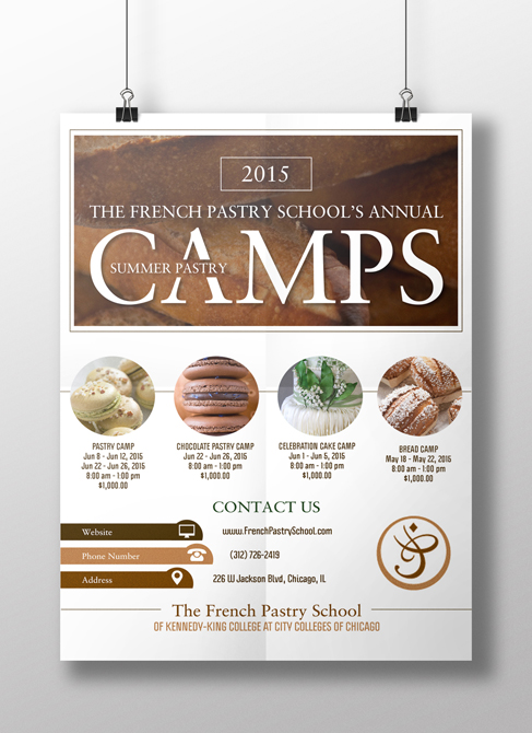 Pastry Camps Flyer