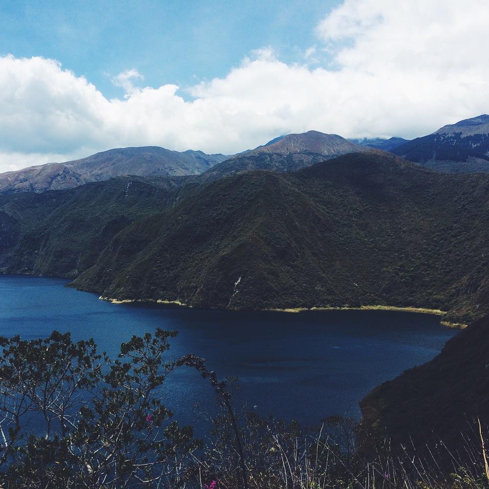 Cotacachi Volcano in Ecuador