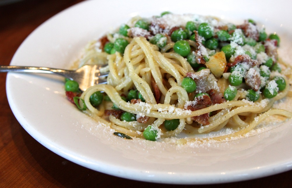Spaghettini carbonara
