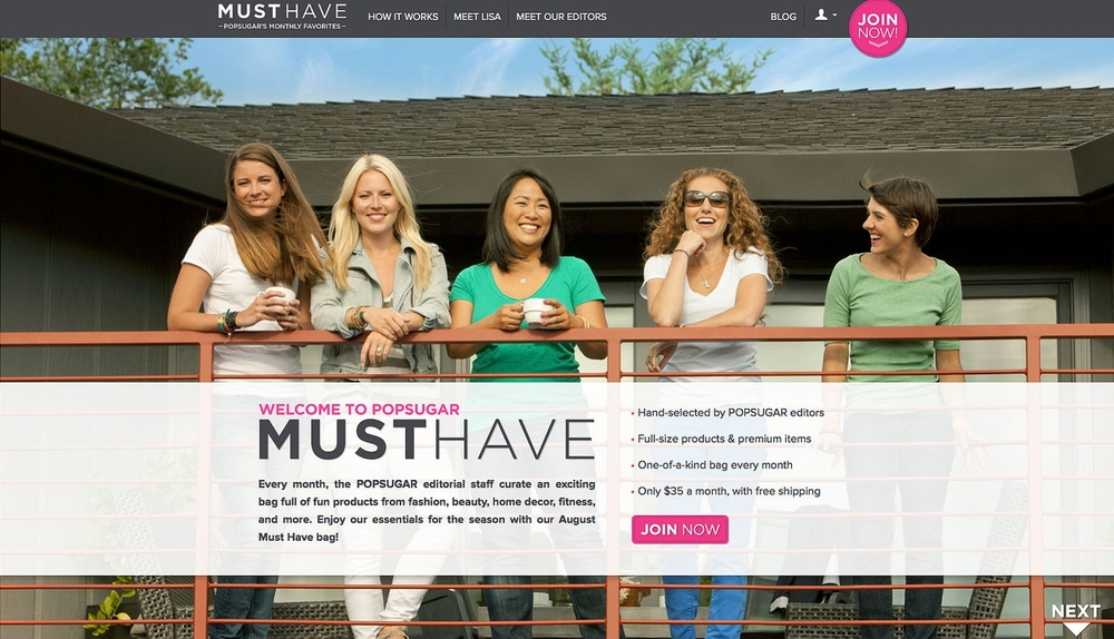I was part of a  feature about POPSUGAR editors  for the launch of the POPSUGAR Must Have program.