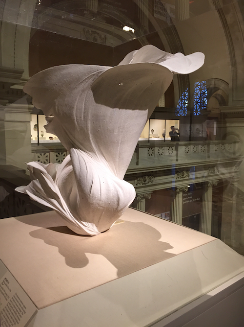 This beauty stands in the Metropolitan Museum in NYC.  I see her grace, flow and beauty.  She is a wonderful container to hold all our quotes and photos.