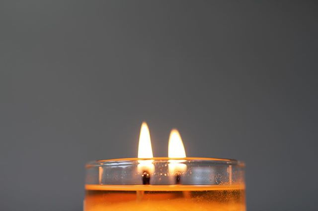 Our candles have two wicks, a unique reminder of all the good we can do together. #bringinglovetolight