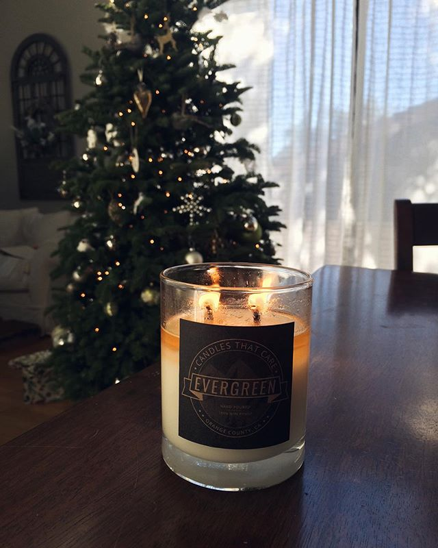 Merry Christmas from us at Candles that Care! Thanks to all of the purchases this holiday season, we've completely run out of stock! Grateful for the overwhelming support and looking forward to continuing production in January. #bringinglovetolight