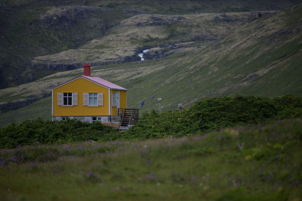 Summer house in Hornstrandir