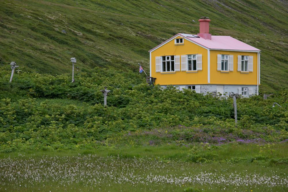 Icelandic summer house in Hornstrandir