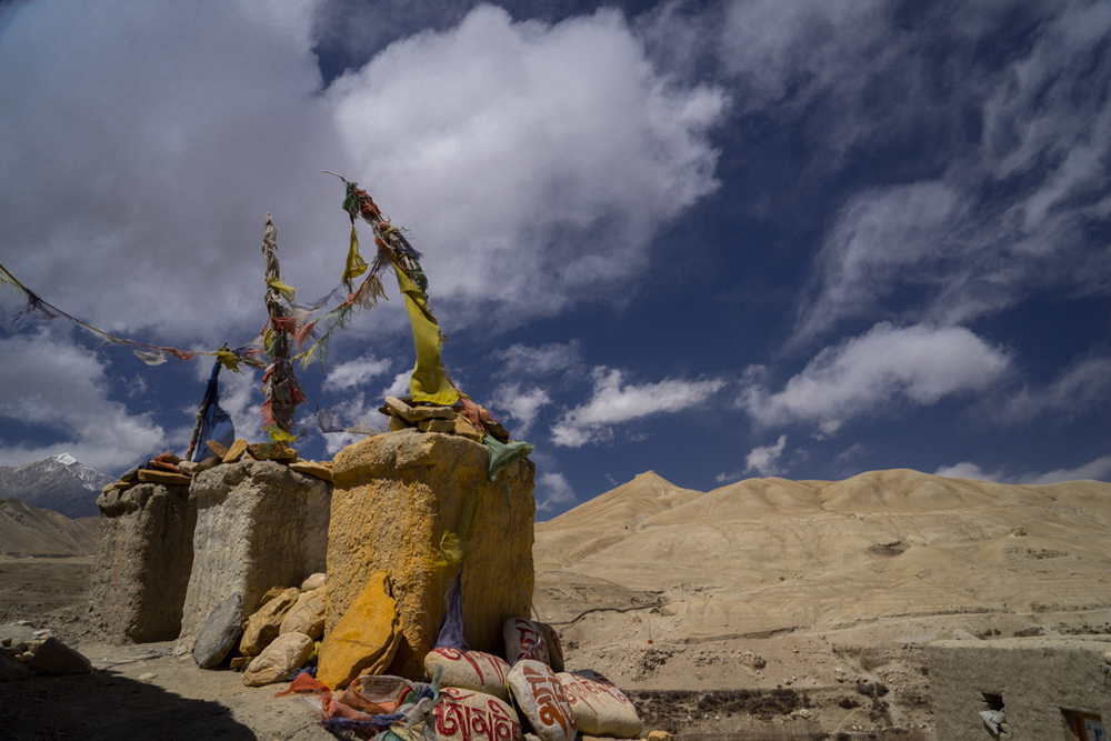 The wardens of Lo Manthang