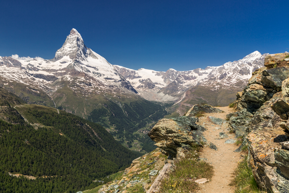 Hiking in Zermatt
