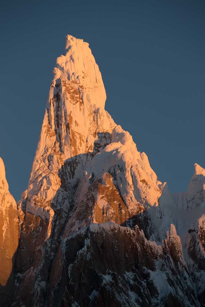 Cerro Torre from the west