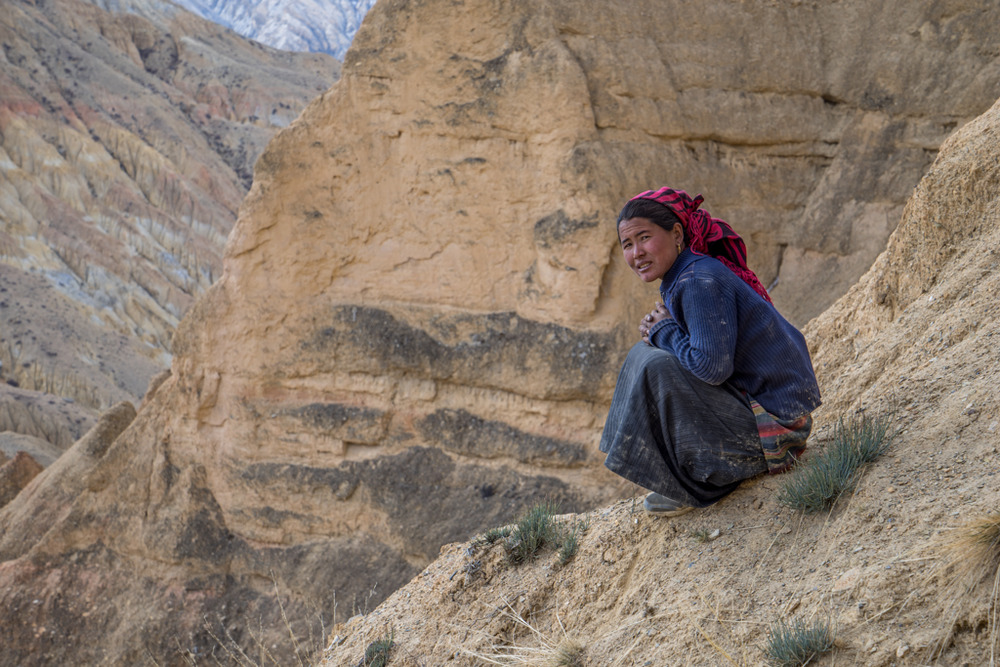 Woman in Kingdom of Mustang