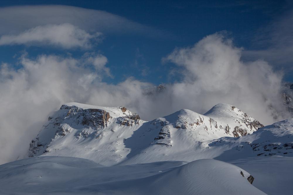 Clouds seen from Clariden-hut