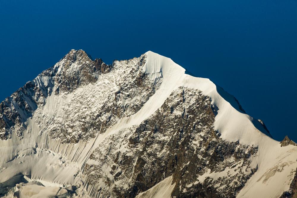 Bianco-ridge of Piz Bernina