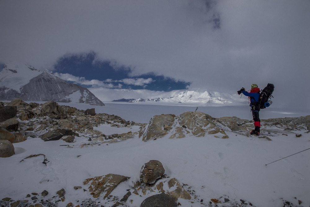 View from Soto shelter in Chile