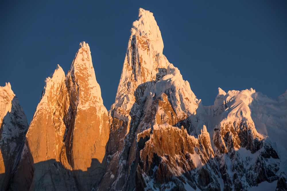 Cerro Torre at sunset