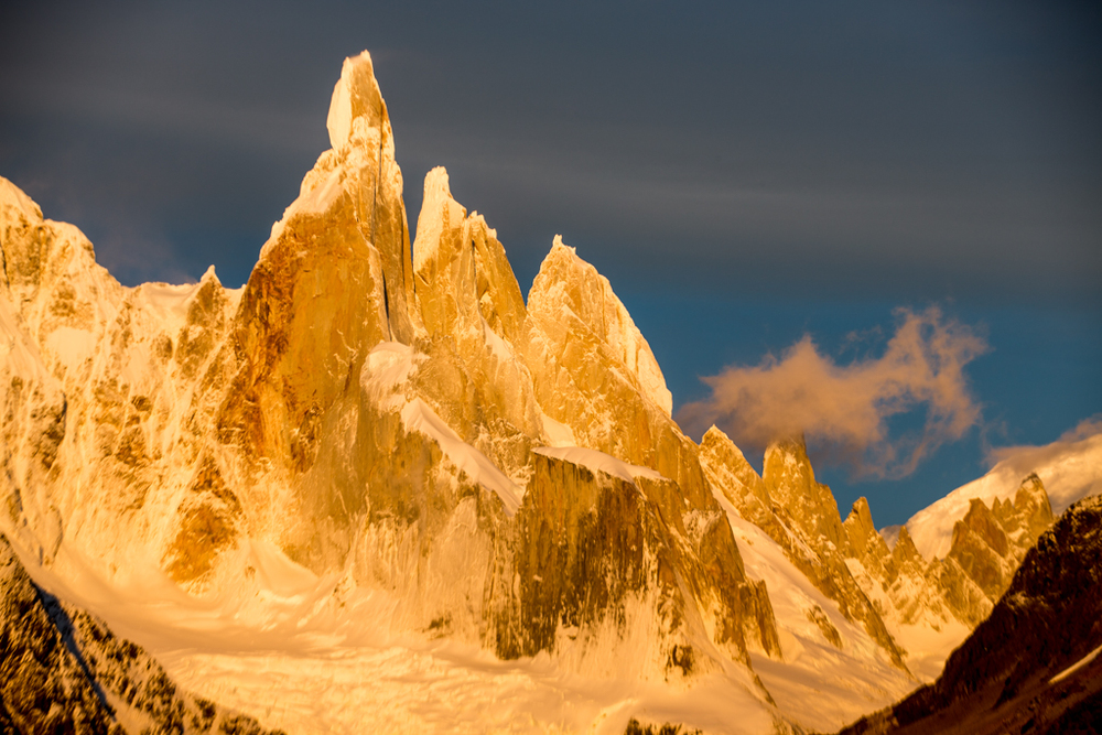 Special clouds near Cerro Torre