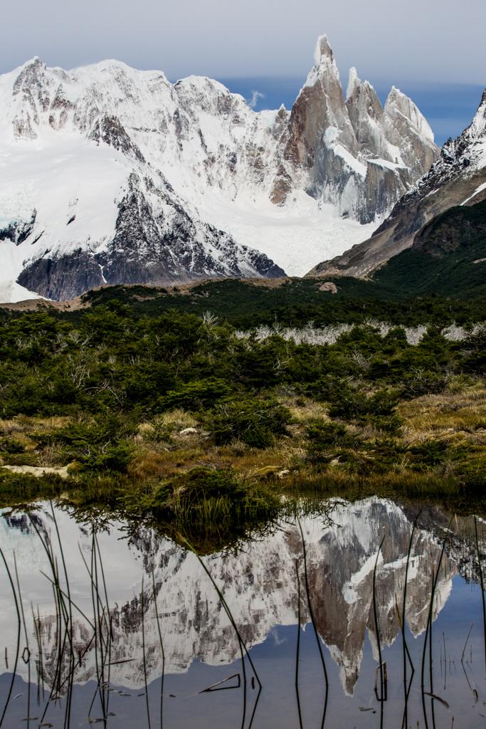 Mirroring Cerro Torre
