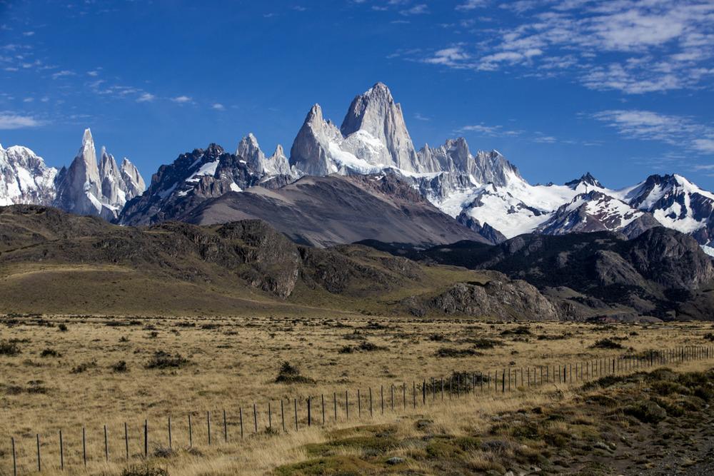 Cerro Torre and Cerro Fitzroy