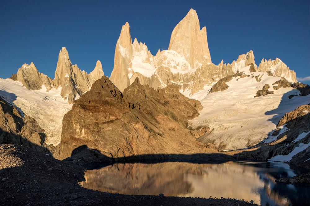 Mirroring Cerro Fitzroy
