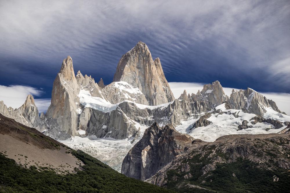 Cerro Fitzroy mountain range
