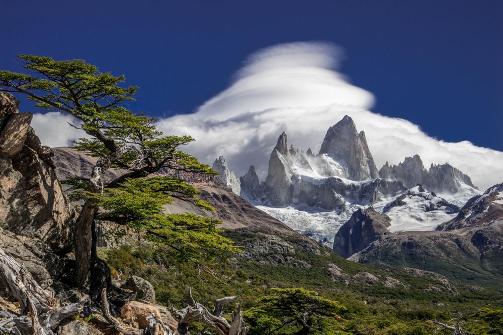 A classic shot of Cerro Fitzroy
