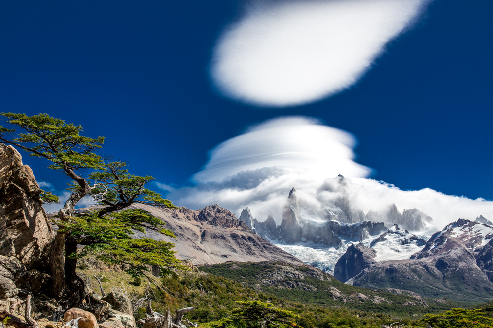 Amazing formation of clouds