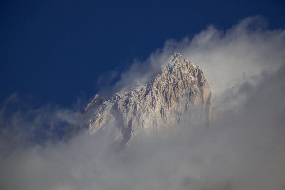 Summit of Cerro Fitzroy