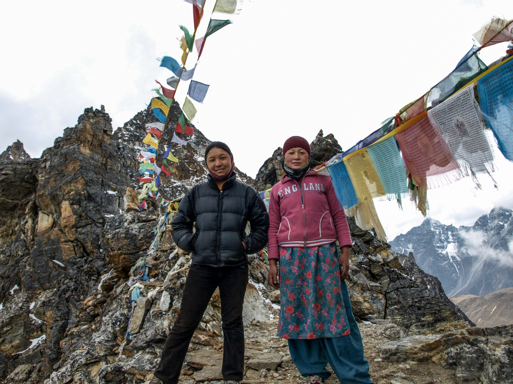 Two female porters