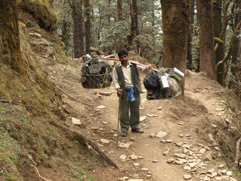Merchant in Nepal