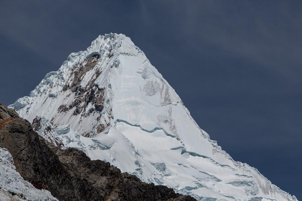 Pyramidical Alpamayo (5947m)