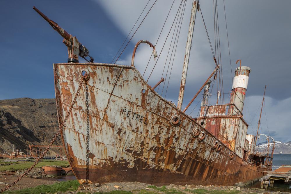 Ship-wreck in Grytviken