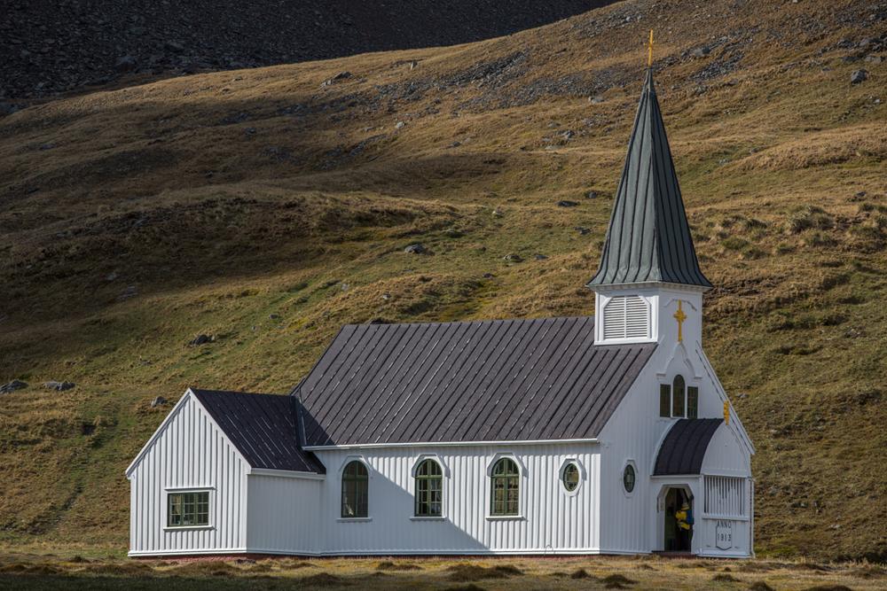 The norwegian church of Grytviken