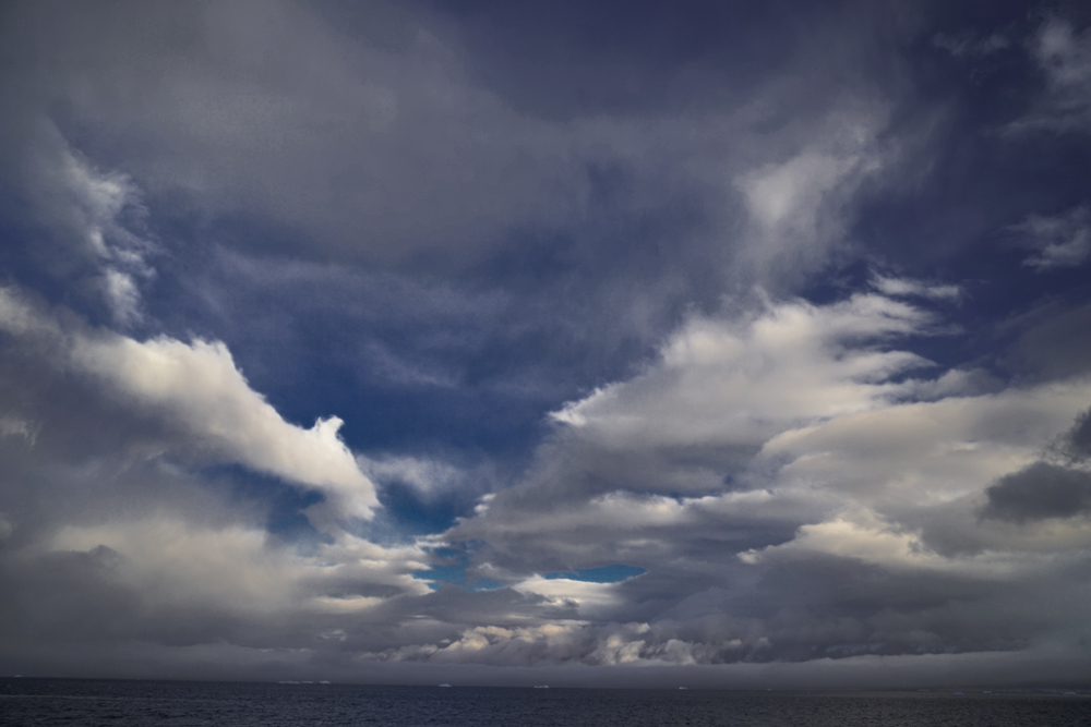 Impressive clouds in Antarctica