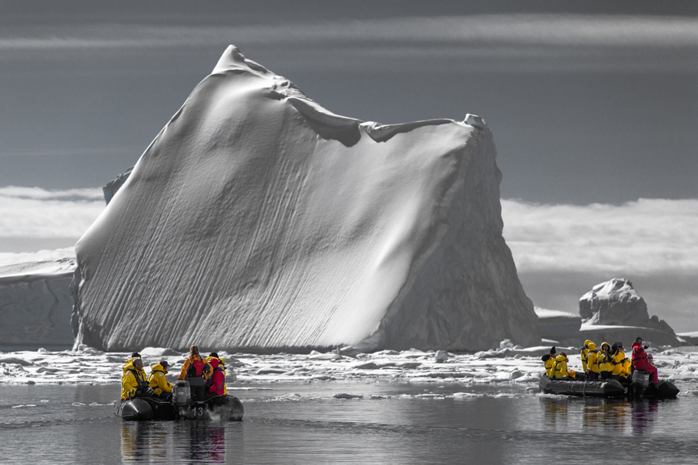 Impressive huge iceberg in Pleneau Bay
