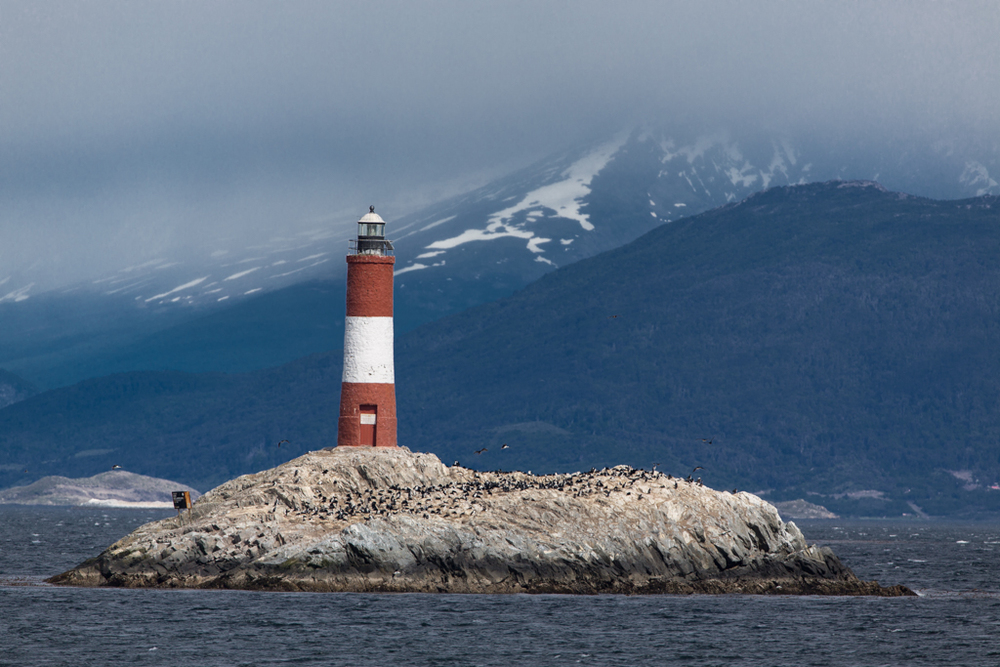 Lighthouse in the Beagle Channel