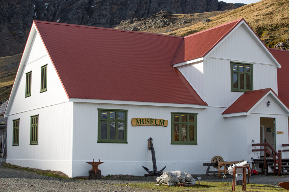 Museum of Grytviken in South Georgia