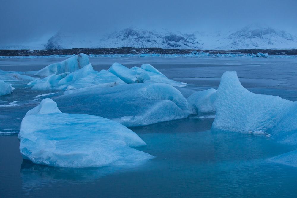 Icebergs in Jökulsarlon