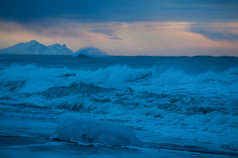 Waves and Icebergs