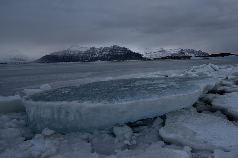 Iceblock on Jökulsarlon