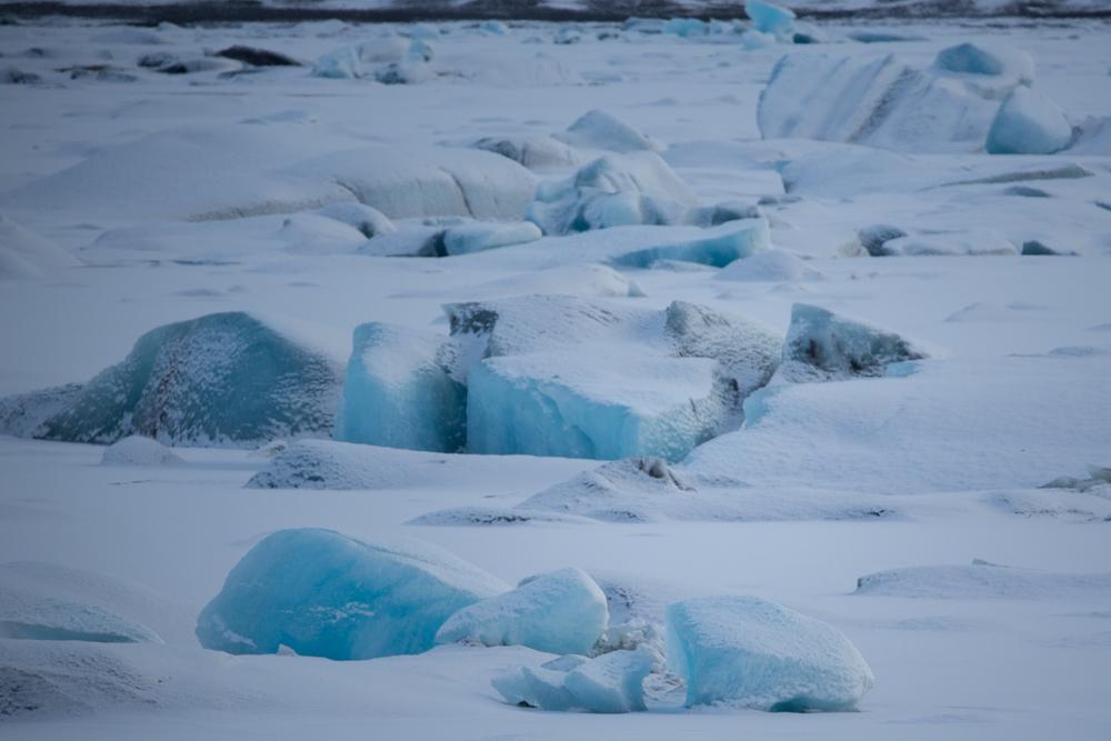 Iceblocks on Jökulsarlon