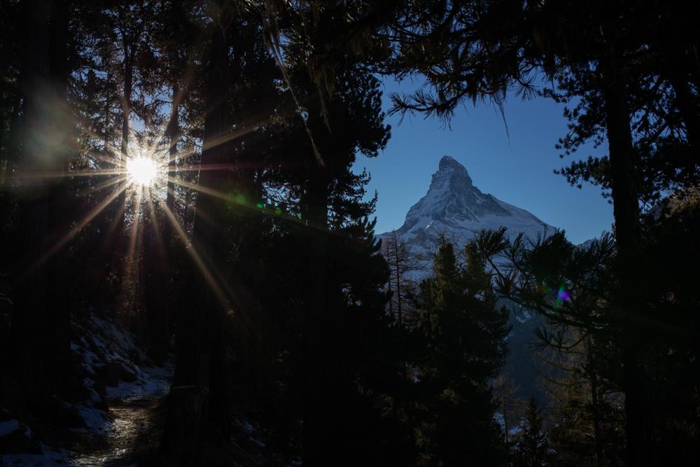 Matterhorn in December 2015