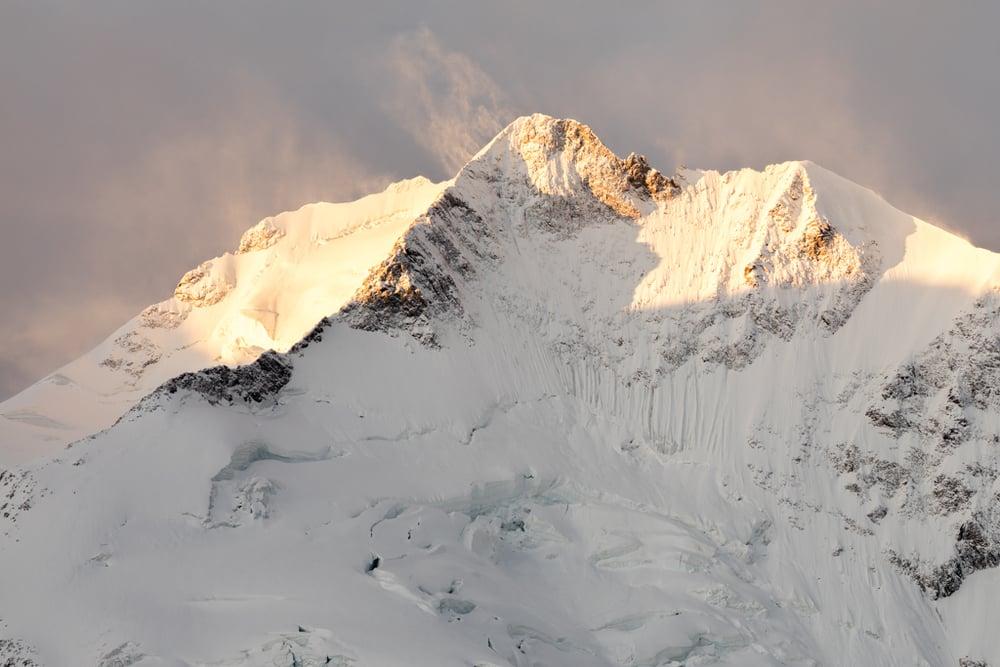 Sunrise at Piz Bernina
