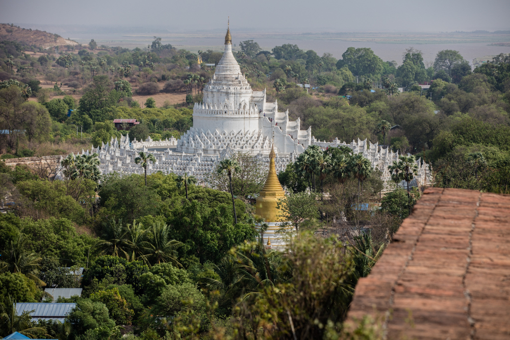 Hundreds of pagodas in Sagaing