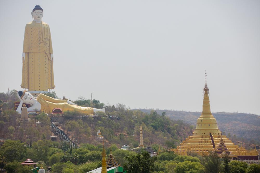 Huge Buddhas of Monywa