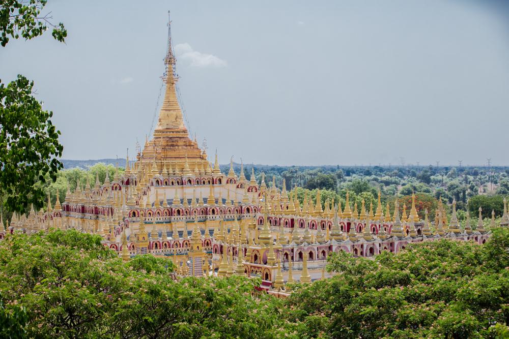 Impressive Thanboddhay pagode