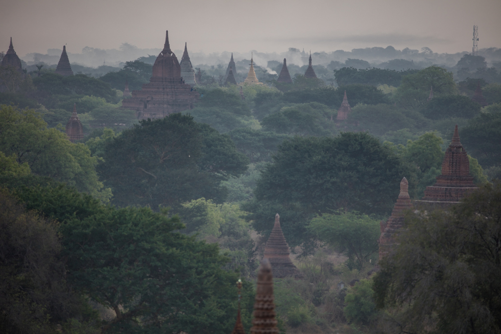 Some mist in Bagan
