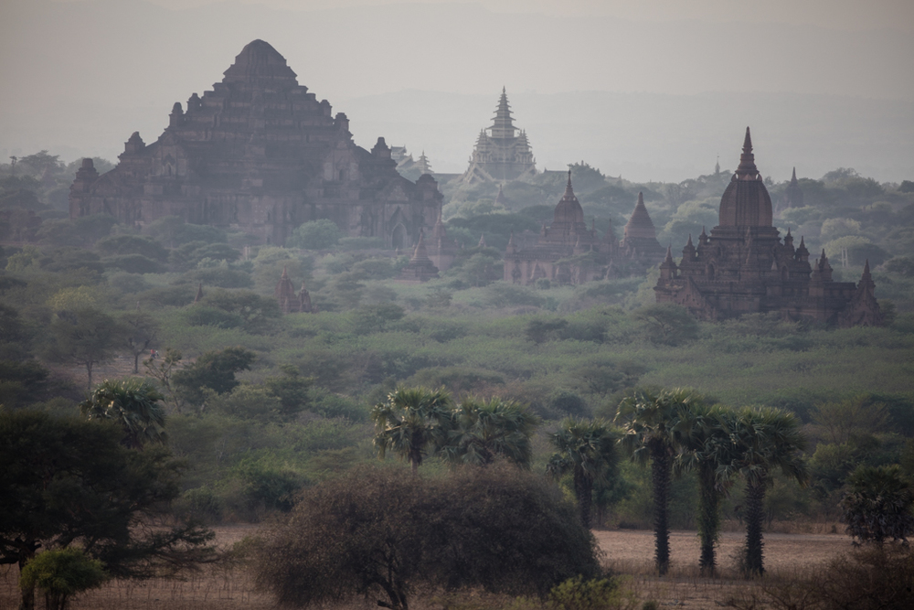 Evening shot in Bagan